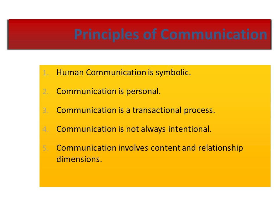 "What is Communication? ""A process in which messages produced by people are received, interpreted, and responded to by other people."""