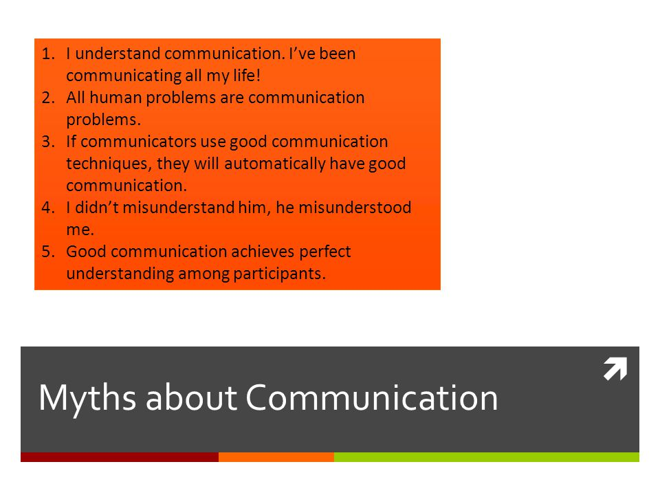 Principles of Communication 1. Human Communication is symbolic. 2. Communication is personal. 3. Communication is a transactional process. 4. Communic