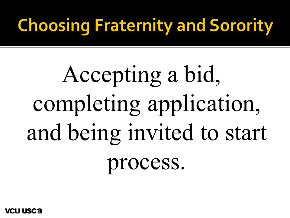 Accepting a bid, completing application, and being invited to start process.