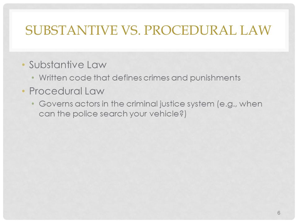 COMMON LAW V.STATUTORY LAW 7 Common Law is judge-made law.