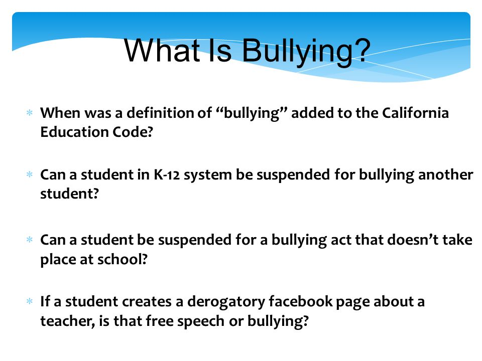 True or False? Because of its prevalence, many accept bullying as part of growing up. True