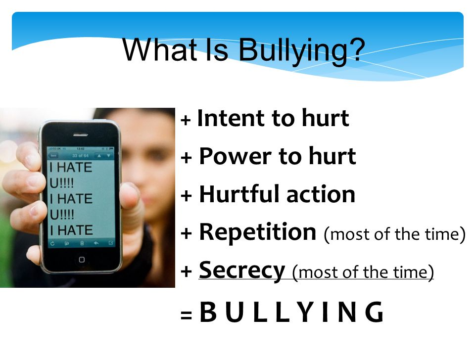 True or False? The United States is the leading country on programs to address bullying. False
