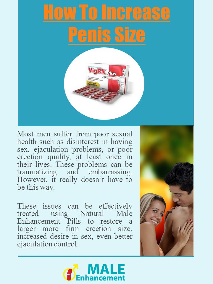 VigRX How To Increase Penis Size How To Maintain An Erection