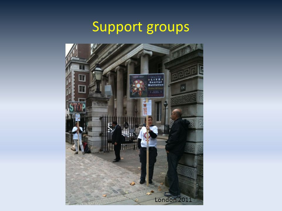 Support groups London 2011