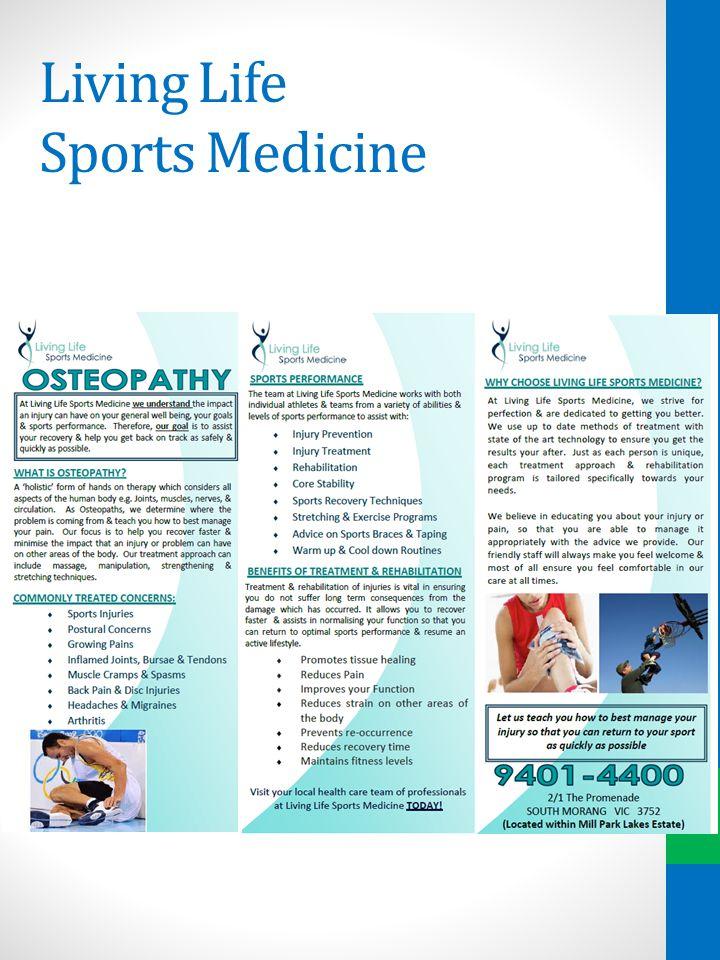 Living Life Sports Medicine