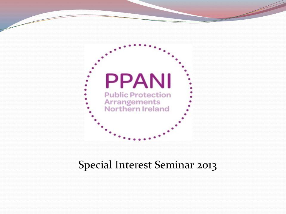 Special Interest Seminar 2013