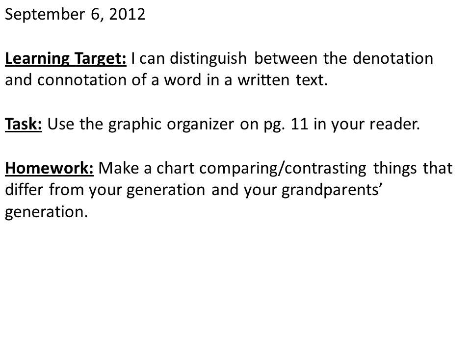 April 25, 2013 Learning Target: Entry Task: