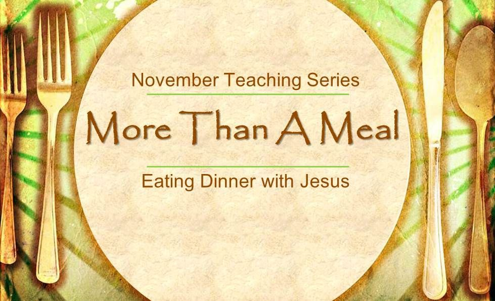 Meals of Grace Why do you eat and drink with tax collectors and sinners? Luke 5