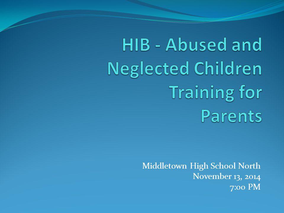Middletown High School North November 13, 2014 7:00 PM