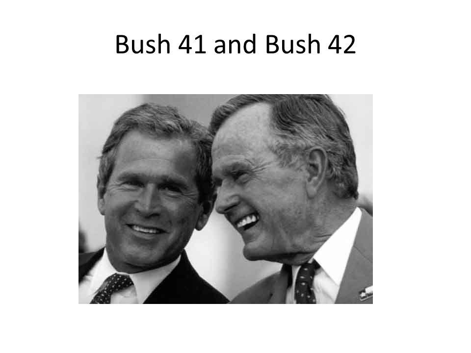 Bush 41 and Bush 42