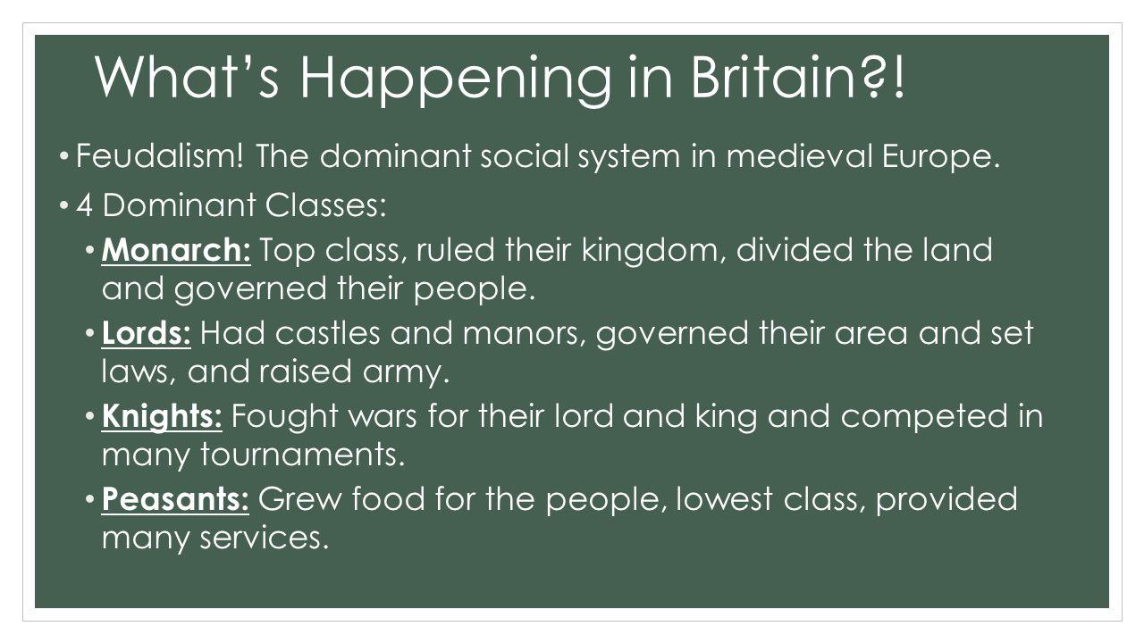 What's Happening in Britain?.