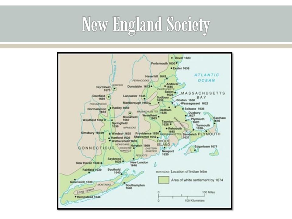 Education & Literacy o Towns with more than 50 households were required to appoint teachers o Harvard College was founded in 1636 to train ministers o About 90% of adult white men & 40% of adult white women could sign their names No more than 50% in other colonies In England, only about 33% could read & write