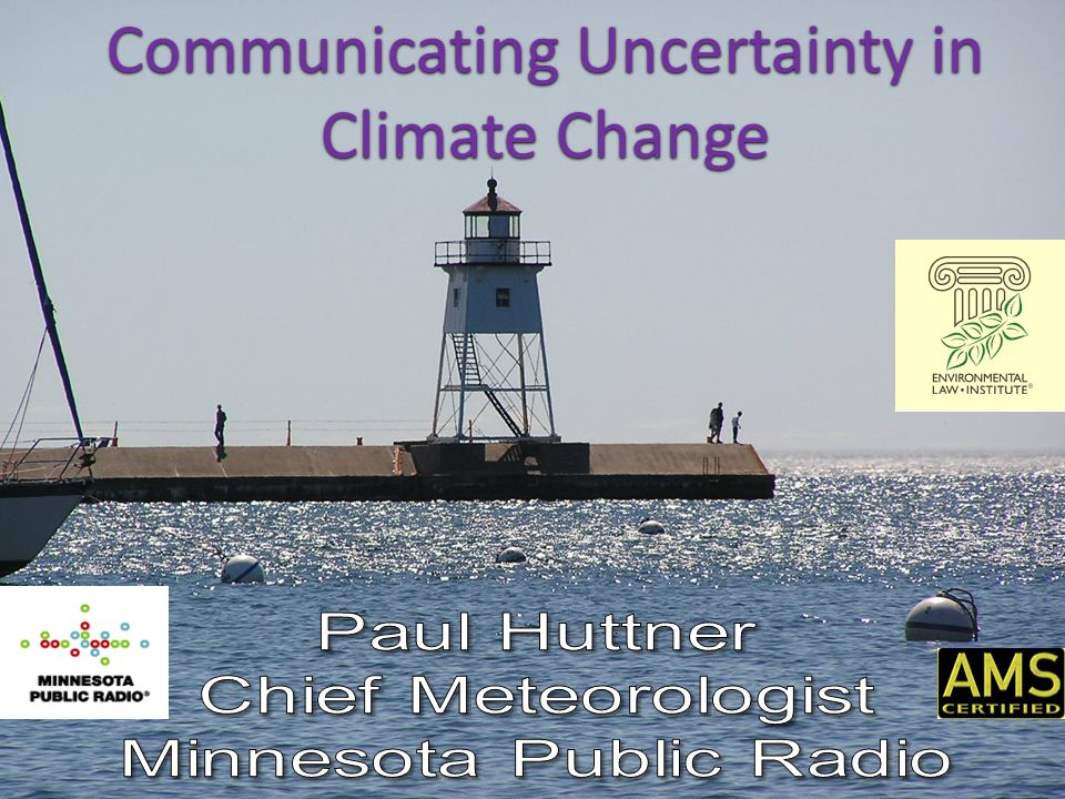 Communicating Uncertainty in Climate Change