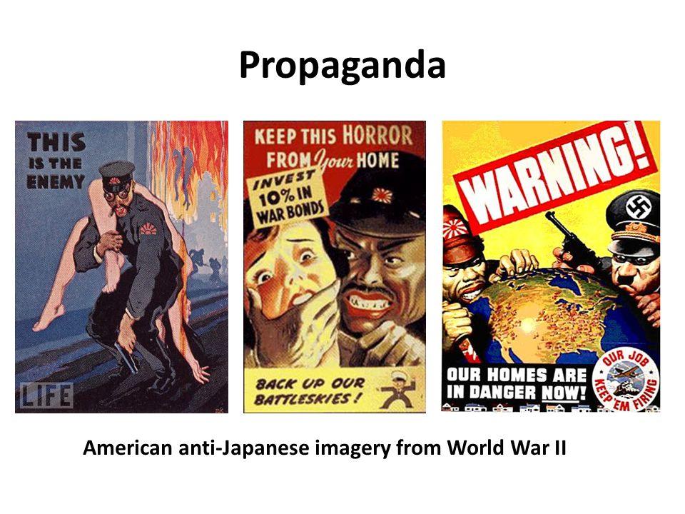 Propaganda American anti-Japanese imagery from World War II