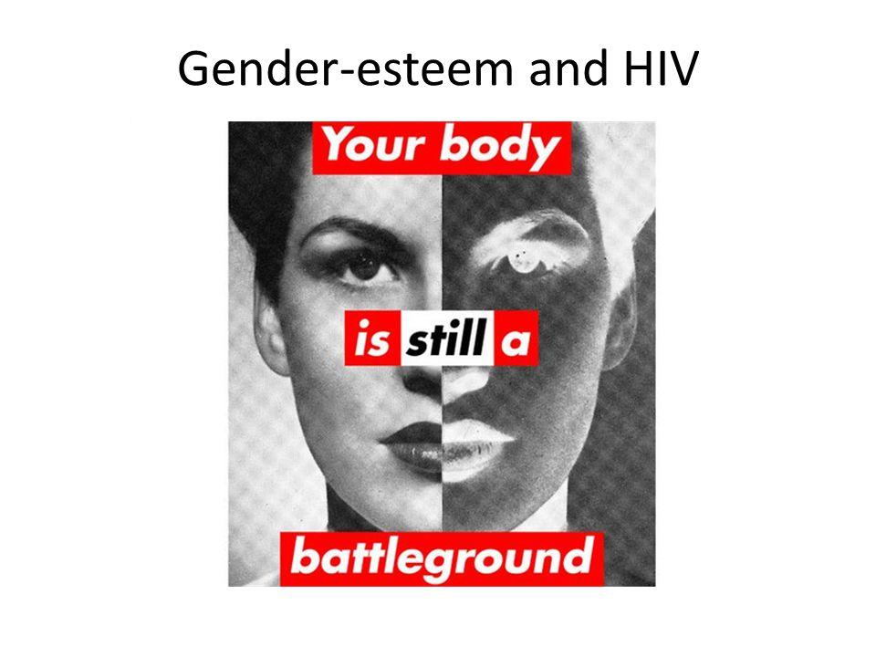 Gender-esteem and HIV