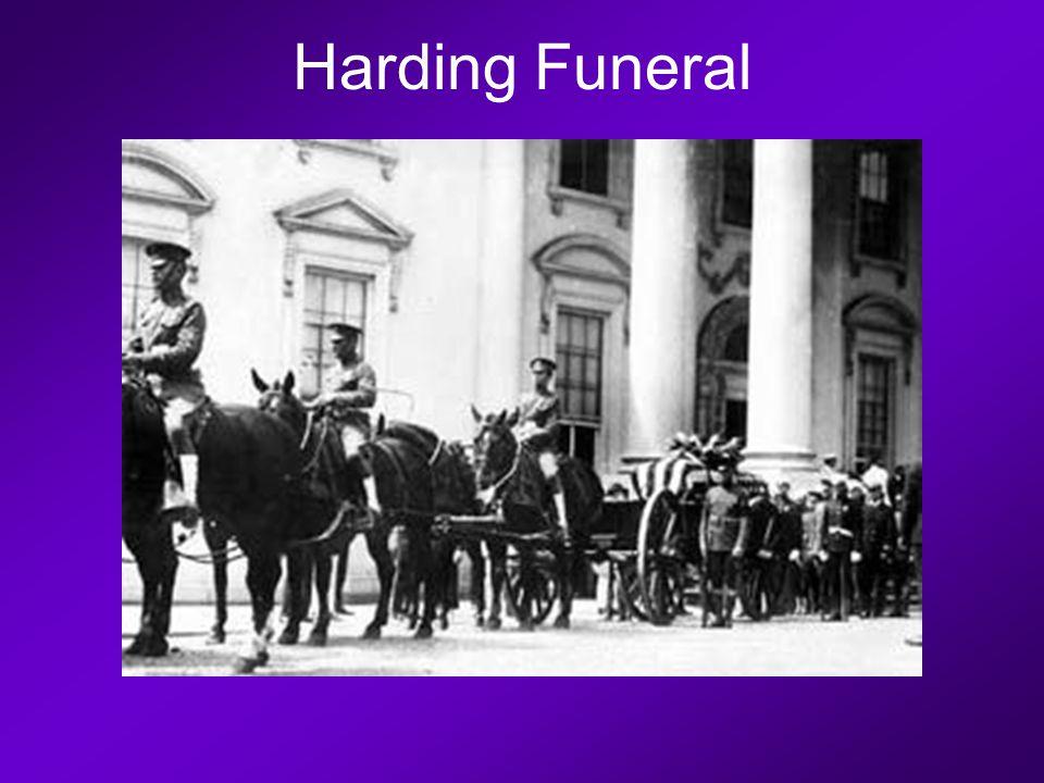 Harding Funeral
