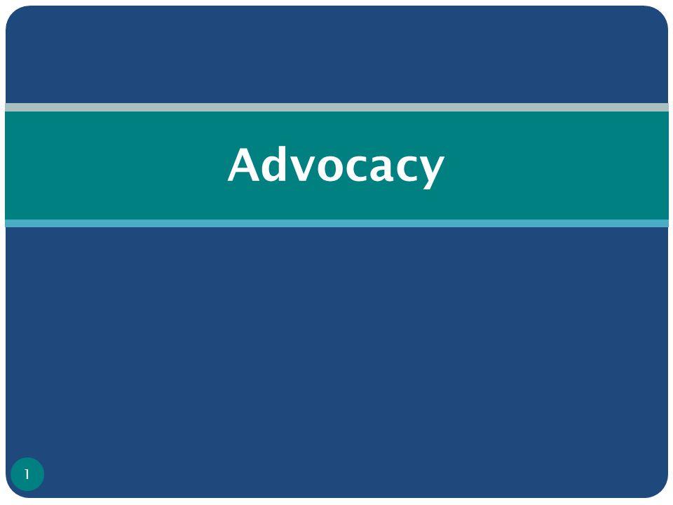 Advocacy 1