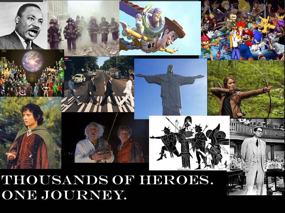 THOUSANDS OF HEROES. ONE JOURNEY.