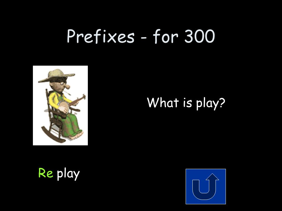 Prefixes - for 300 Remember to phrase your answer in the form of a question.