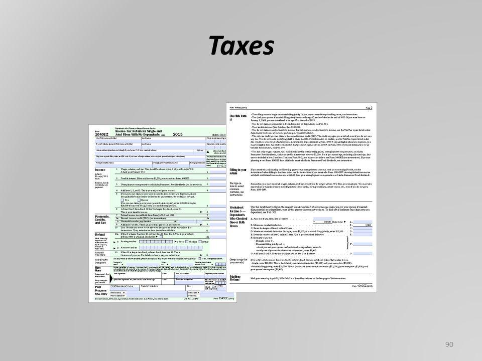 Taxes 90