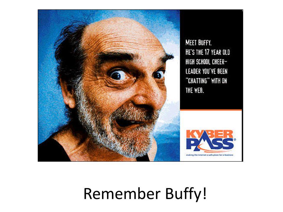 Remember Buffy!
