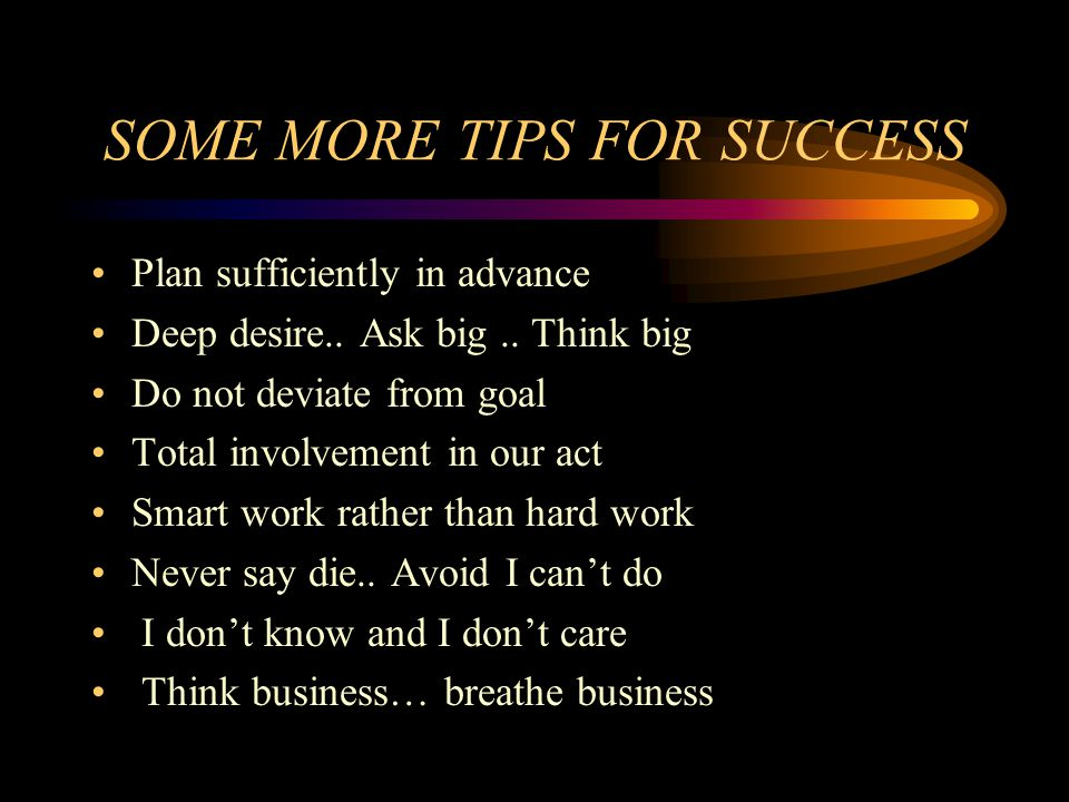 12 STEPS FOR A SUCCESSFUL ENTREPRENEUR Sign a self agreement for private victory Opinion of others about us..
