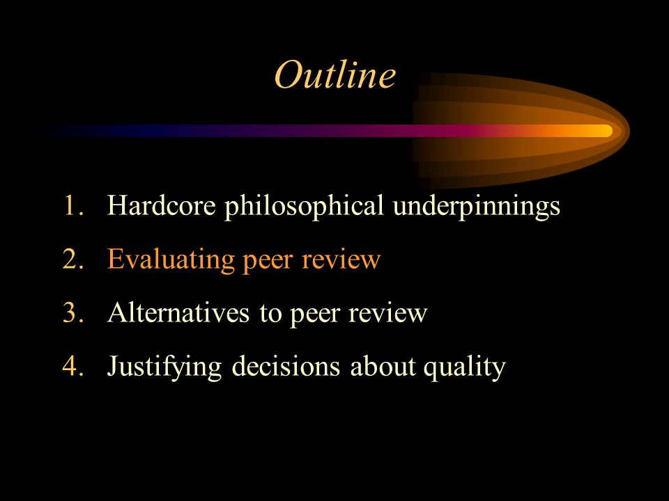 Evaluating Peer Review Selecting reviewers; providing incentives Informed objectivity; conflict of interest Review criteria; comparing across panels Ronald N.