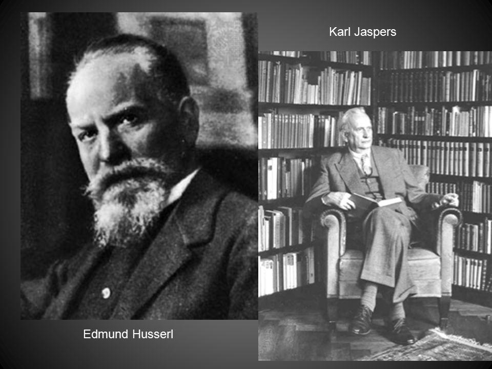 Edmund Husserl Karl Jaspers