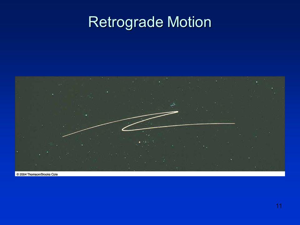 11 Retrograde Motion
