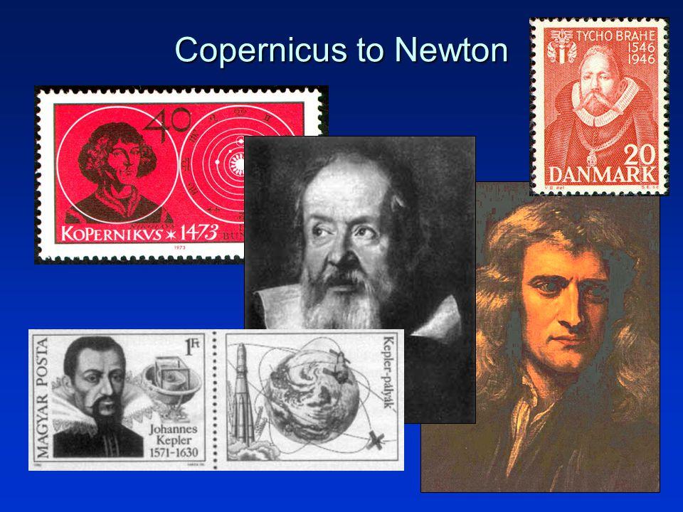 4 Copernicus to Newton