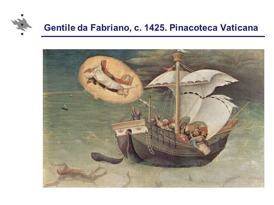Gentile da Fabriano, c. 1425. Pinacoteca Vaticana