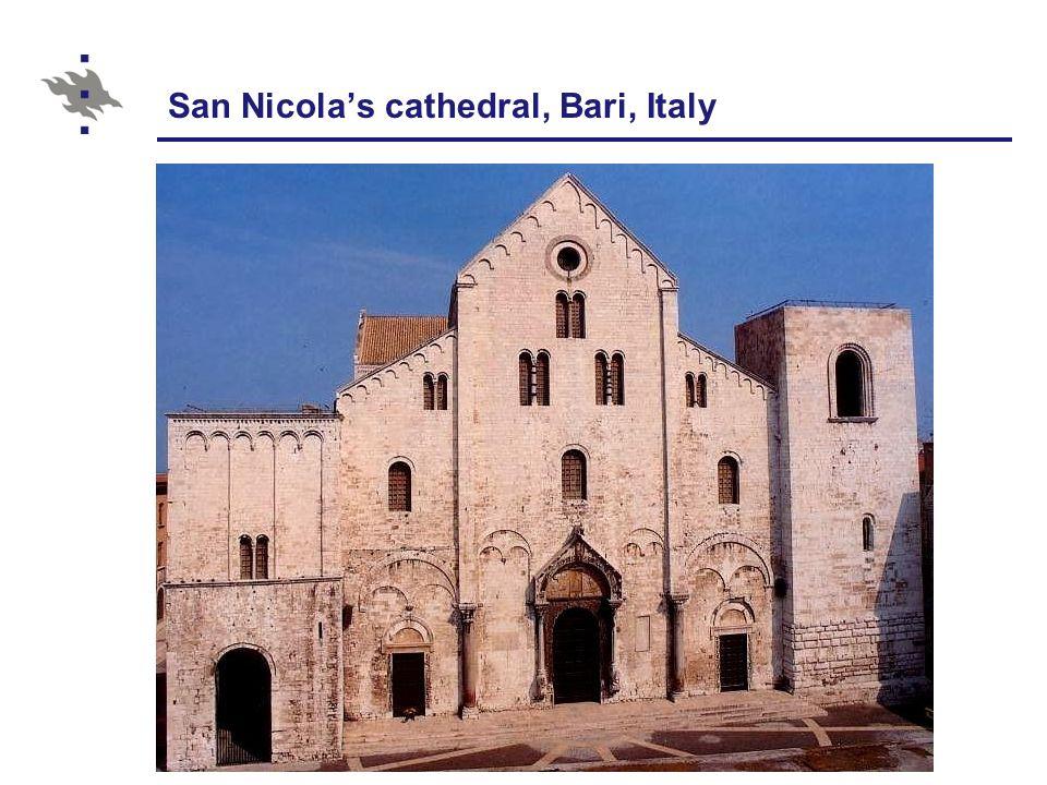 San Nicola's cathedral, Bari, Italy