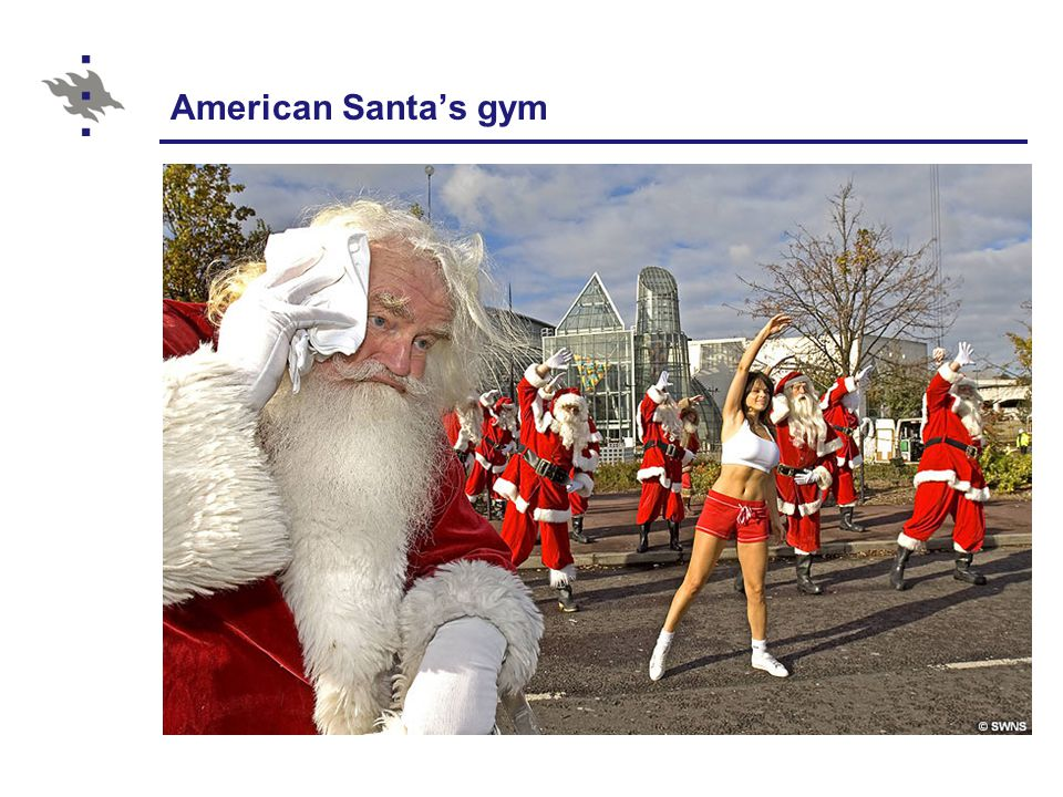 American Santa's gym
