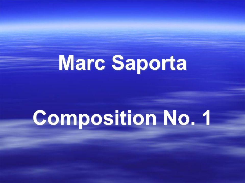 Marc Saporta Composition No. 1