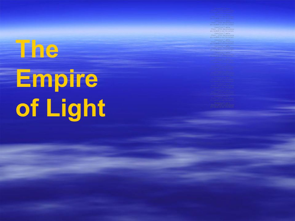The Empire of Light