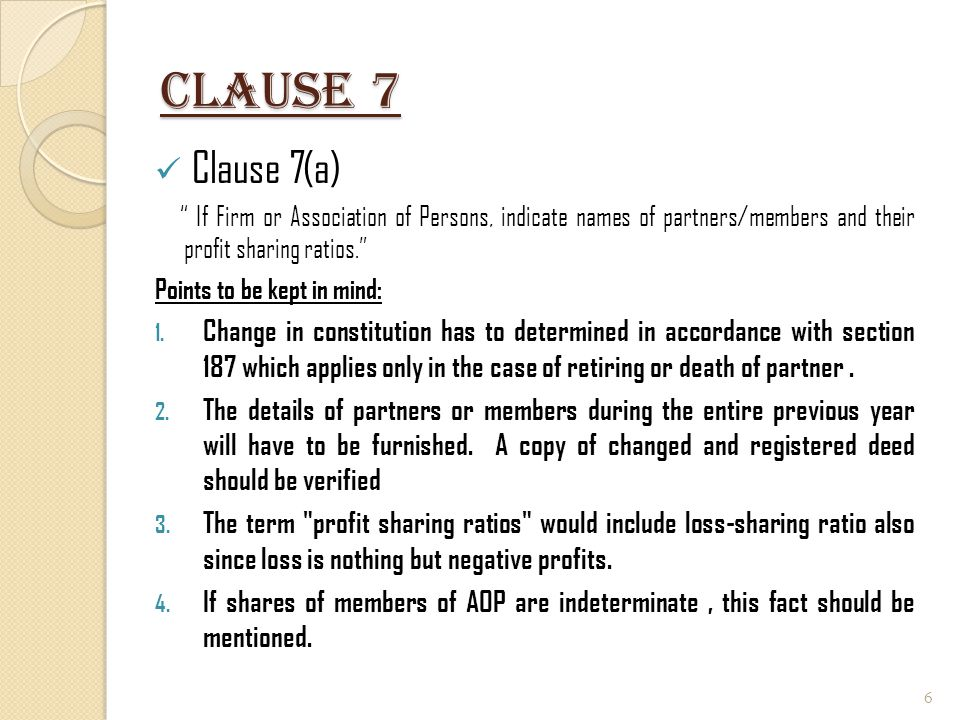 Clause 17(H) (i ) Whether a certificate has been obtained from the assessee regarding payments relating to any expenditure covered under Section 40A(3) that the payments were made by account payee cheques drawn on a bank or account payee bank draft, as the case may be; [Yes/No] (ii) amount inadmissible under Section 40A(3), read with rule 6DD [with break-up of inadmissible amounts]; Provisions of section 40A (3) have three limbs.