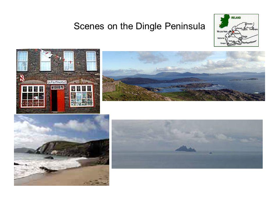 Scenes on the Dingle Peninsula