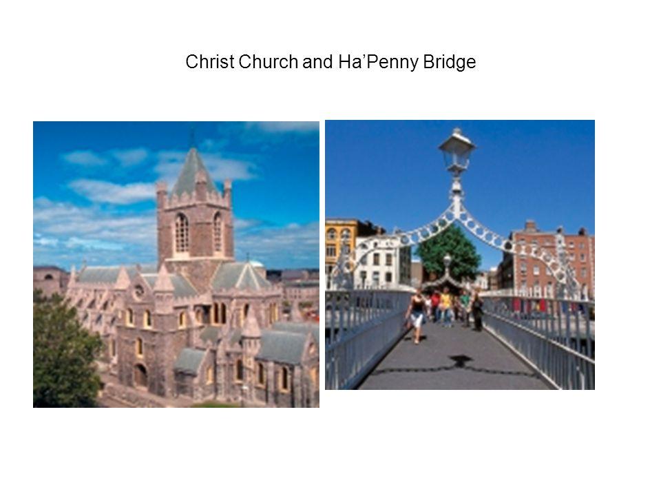 Christ Church and Ha'Penny Bridge