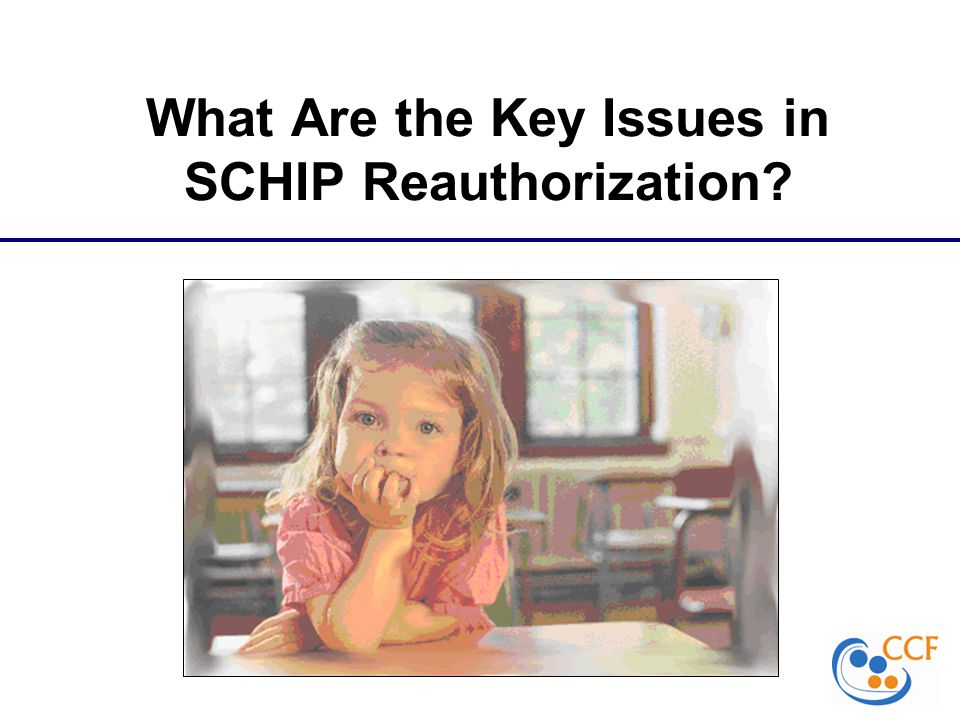 What Are the Key Issues in SCHIP Reauthorization?