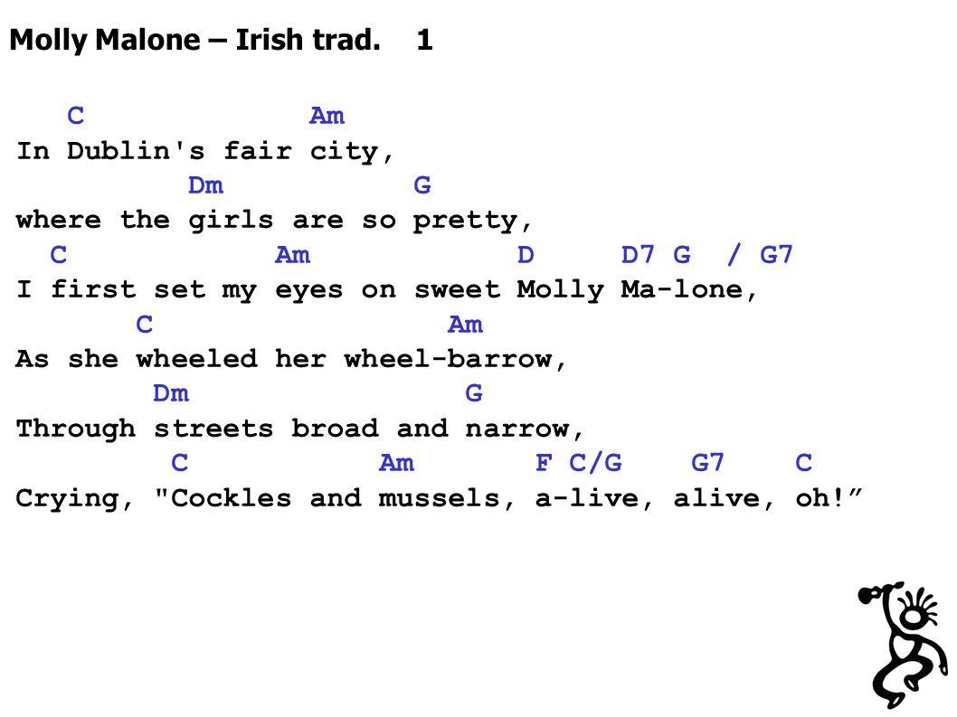 Molly Malone – Irish trad.
