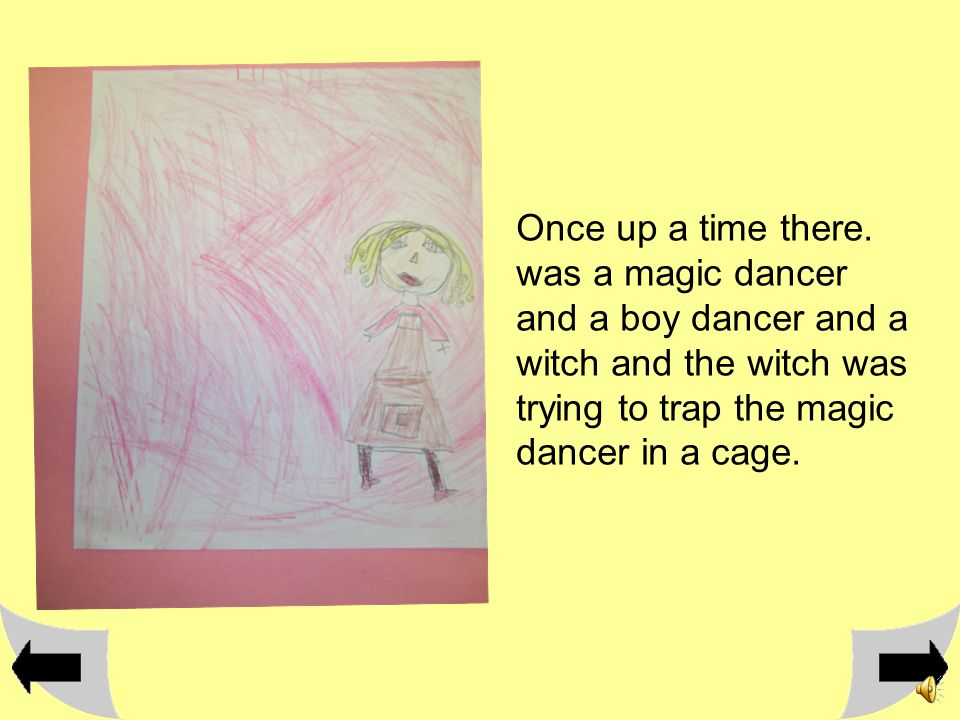 The magical dancer Written and illustrated J.M.W.M
