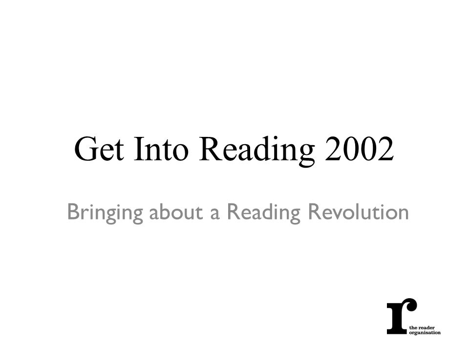 Get Into Reading 2002