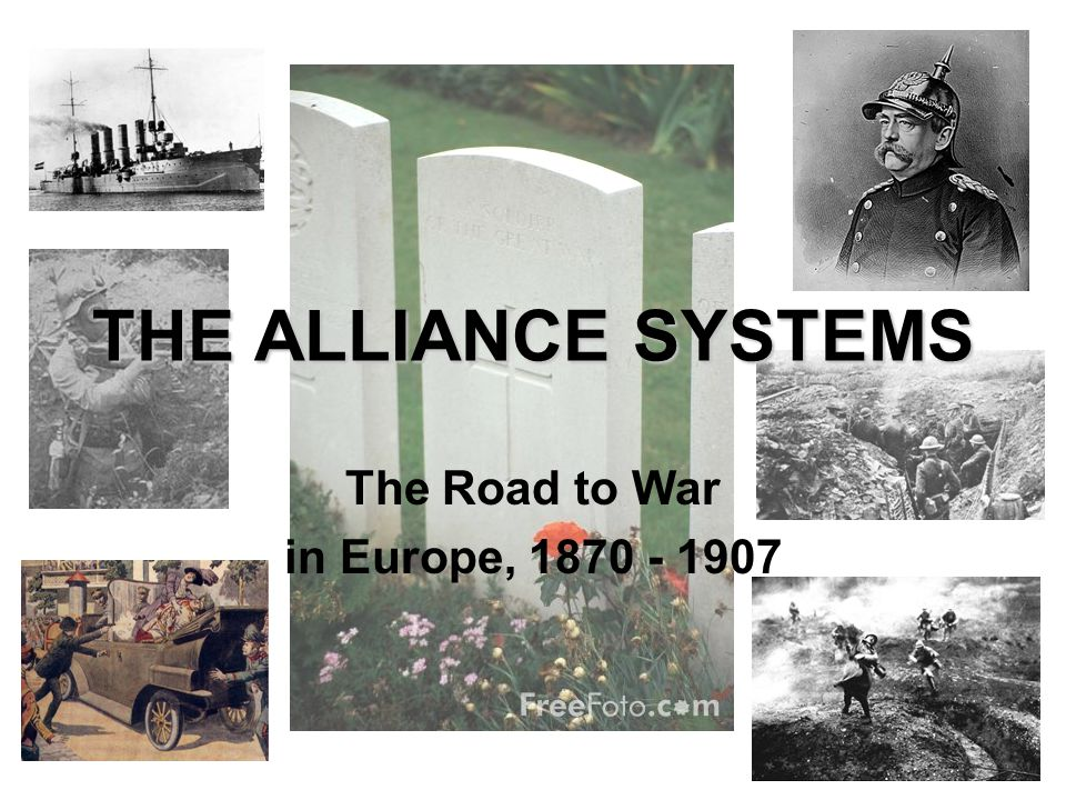 The Alliance Systems The Triple Entente France Russia Great Britain The Triple Alliance Germany Austria Italy These alliances would now last until the outbreak of war in August 1914.
