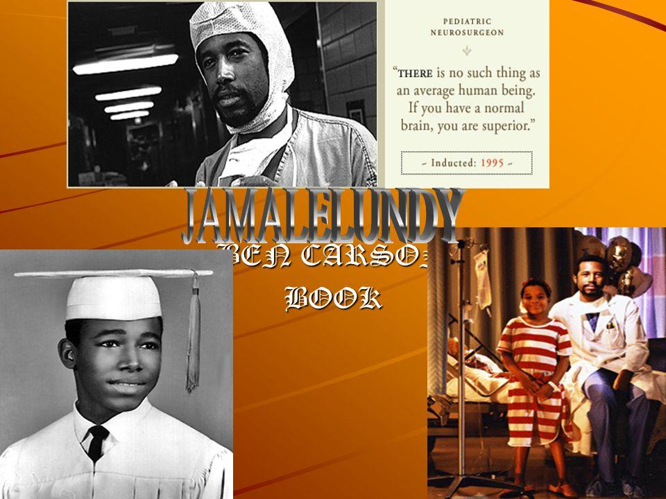 BEN CARSON BOOK