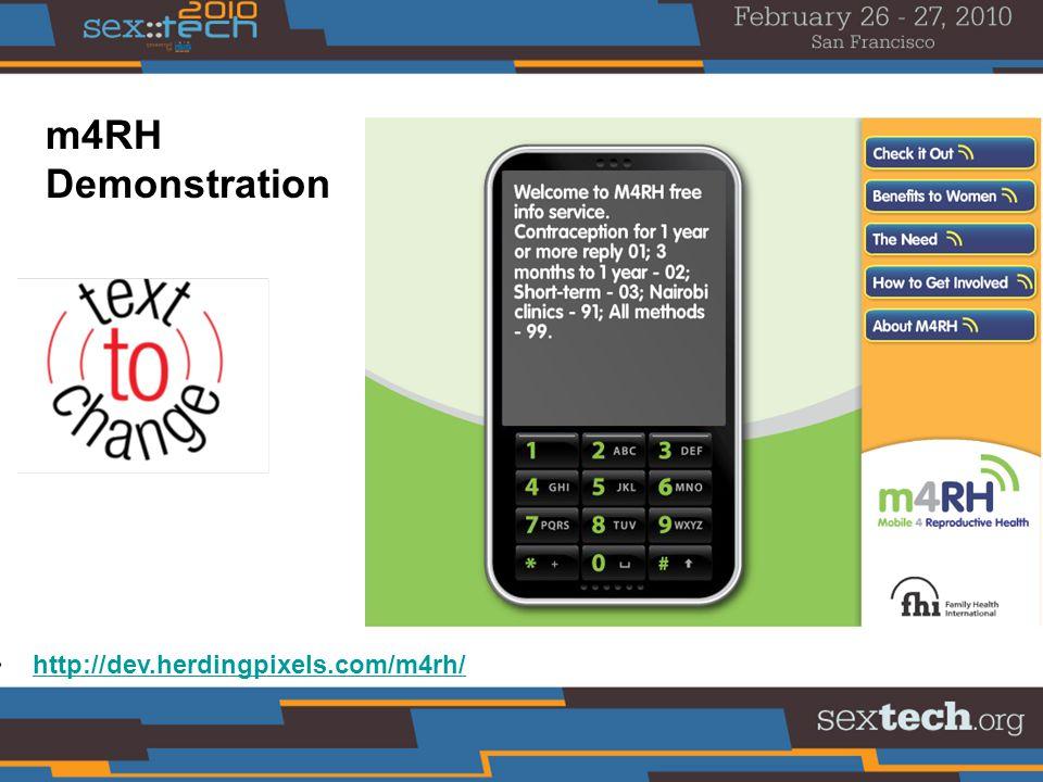 http://dev.herdingpixels.com/m4rh/ m4RH Demonstration