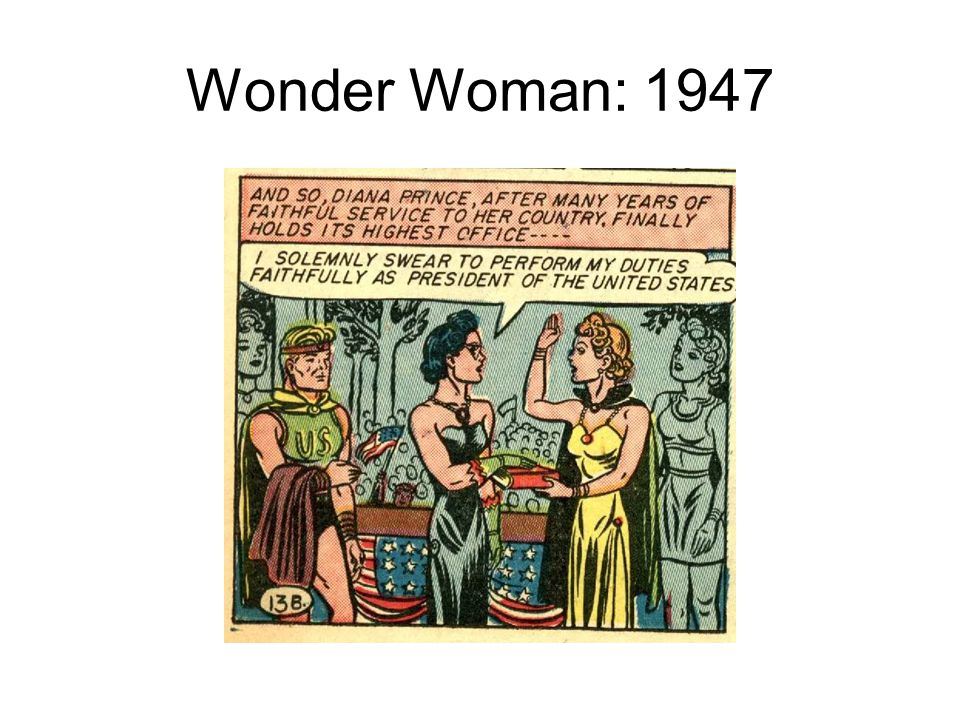 Wonder Woman: 1947