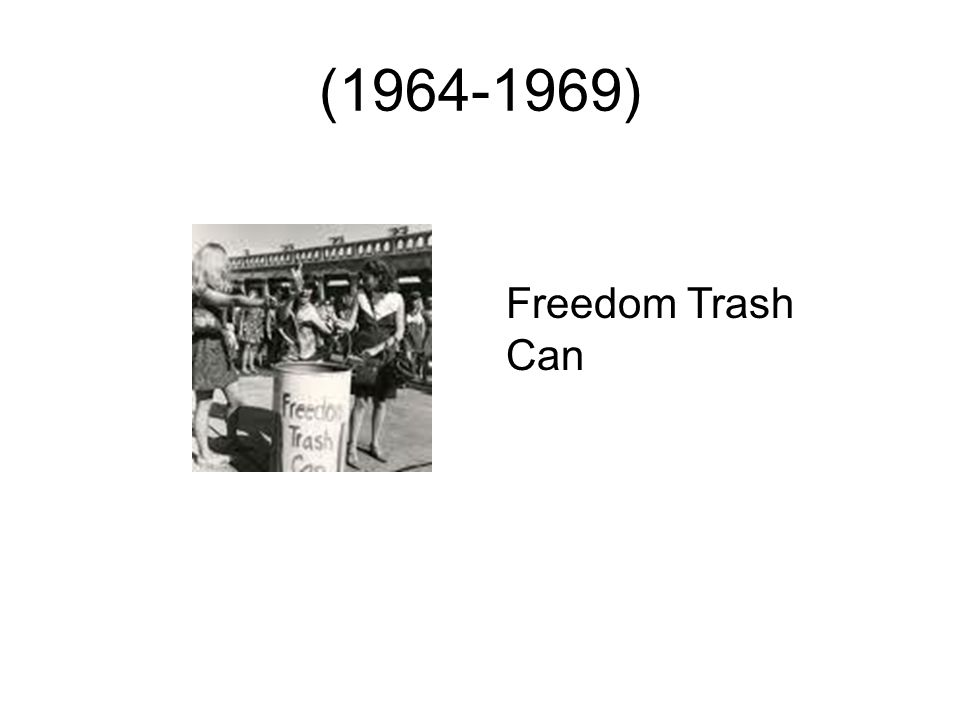 (1964-1969) Freedom Trash Can