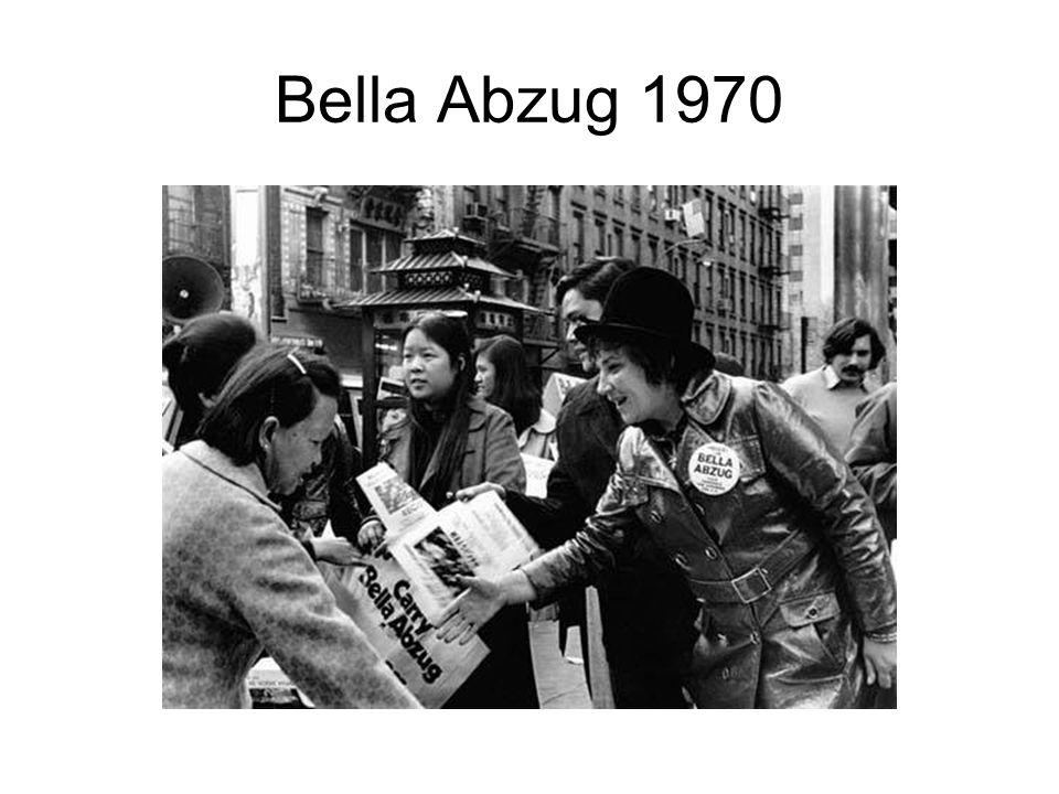 Bella Abzug 1970