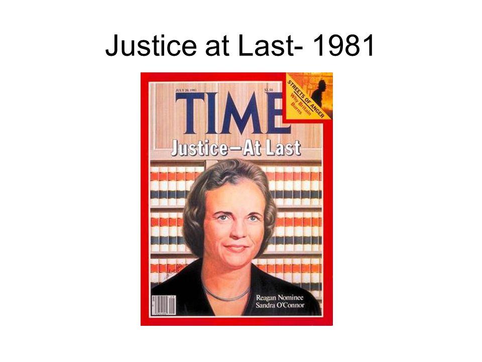Justice at Last- 1981