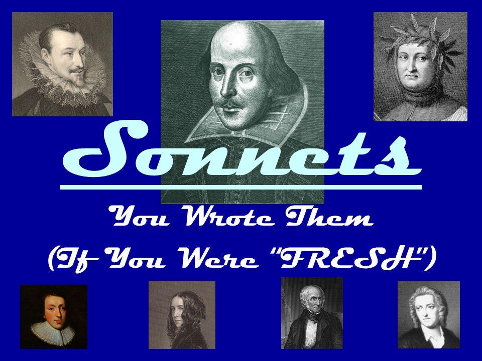 The Sonneteers PetrarchSpenser Shakespeare Milton BrowningWordsworth Gray